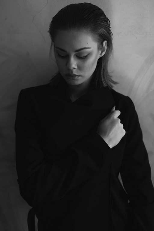 Modelka-Zuza Poterek zdjęcie-Andrzej Sieńkowski