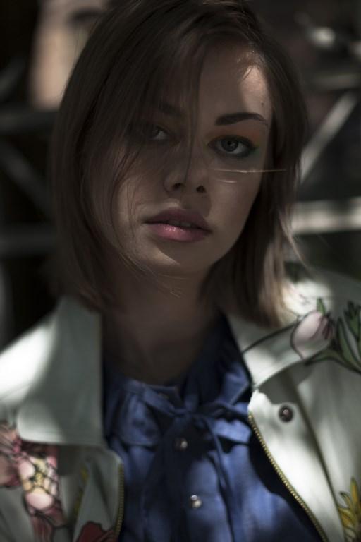 Modelka-Zuza Poterek zdjęcie-Andrzej Sieńskowski