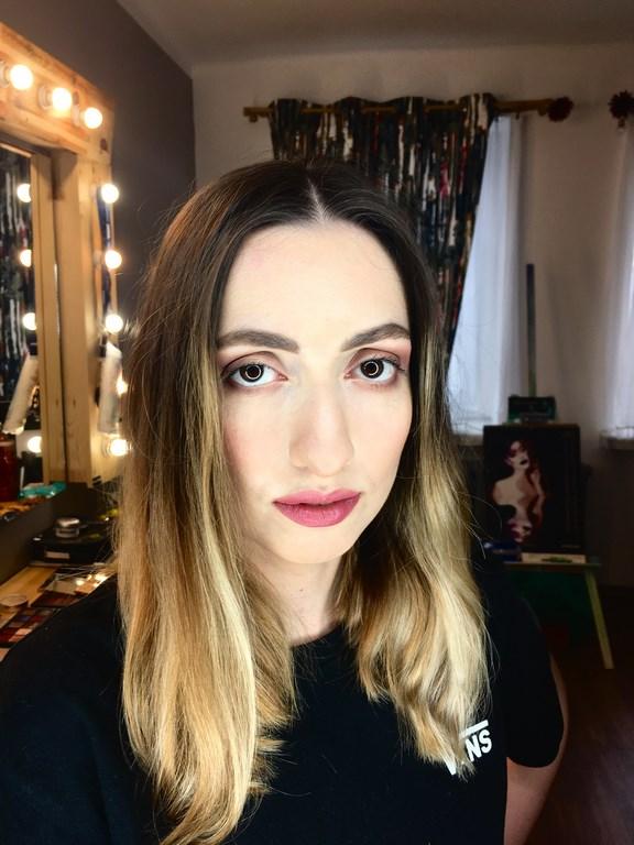 makijaż dzienny, szkolenie indywidualne dla Edyta Mielnik (2)