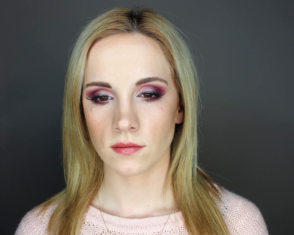 makijaż wieczorowy, szkolenie indywidualne z Wioletta Drohomirecka